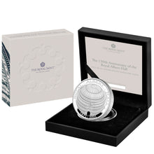 2021 UK £5 Royal Albert Hall Piedfort 2oz Silver Proof