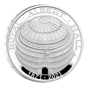 2021 UK £5 Royal Albert Hall 1oz Silver Proof