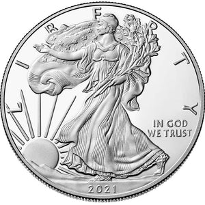 2021 USA $1 American Eagle 1oz Silver Proof