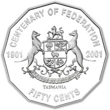 2001 20c, 50c, $1 Federation 20-coin Collection