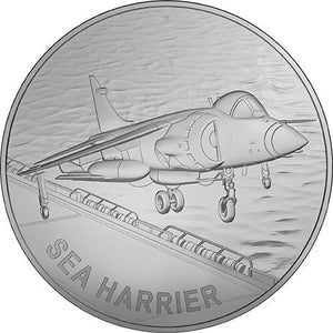 2019 Harrier Jump Jet Medallion & Stamp Cover