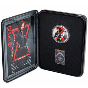 2020 Fiji $1 Black Widow 1oz Silver Proof