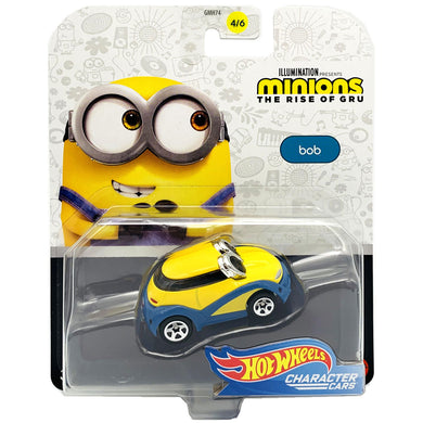 Hot Wheels Minions Character - Bob Die Cast Car