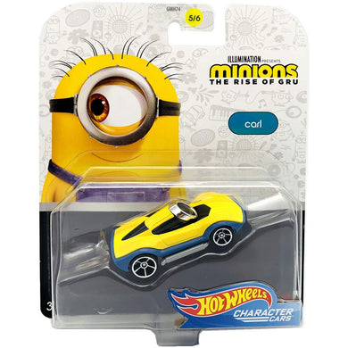 Hot Wheels Minions Character - Carl Die Cast Car