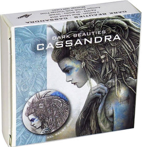2018 Niue $2 Dark Beauties - Cassandra Silver Coin