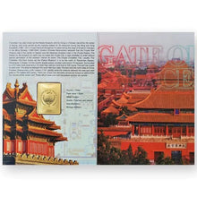 2020 Palau $1 Gate to Forbidden City Gold-plated Proof