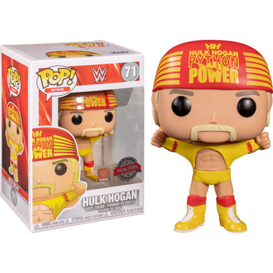 WWE - Hulk Hogan Wrestlemania 3 Pop!