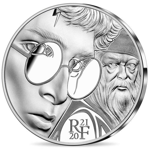 2020 France 10€ Harry Potter Silver Proof