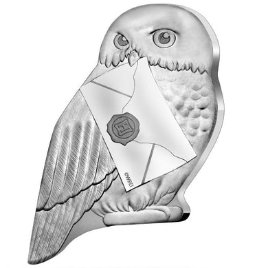 2021 France 10€ Harry Potter - Hedwig Silver Proof