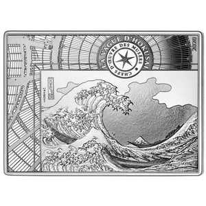 2020 France 10€ Masterpieces of the Museum - Hokusai Silver Proof