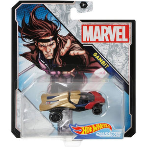 Hot Wheels Marvel Character - Gambit Die Cast Collectable Car