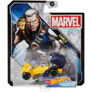 Hot Wheels Marvel Character - Cable Die Cast Collectable Car