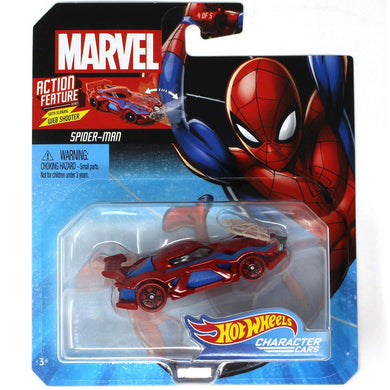 Hot Wheels Marvel Character - Spiderman Die Cast Collectable Car