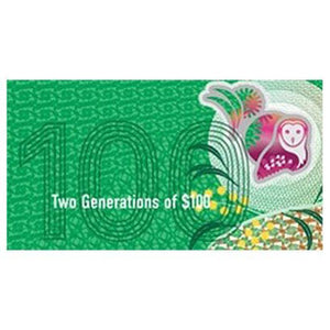 2020 $100 Two Generations Note Folder