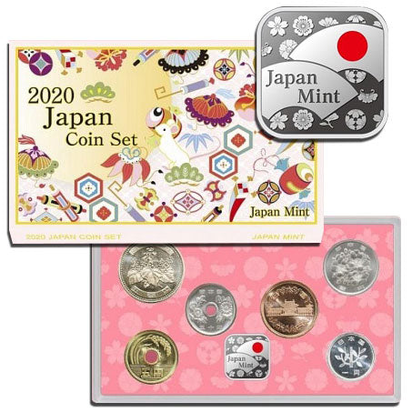 2020 Japan Technology Coin Set