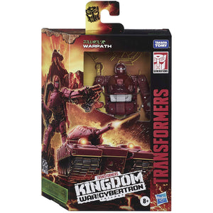 Transformers Generations Kingdom Deluxe - Warpath Action Figure