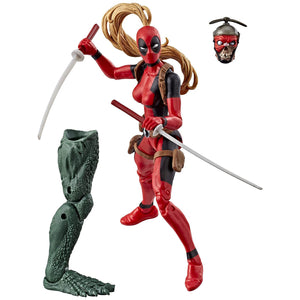 Marvel Deadpool Legends 6 inch Wave 2 - Lady Deadpool Action Figure