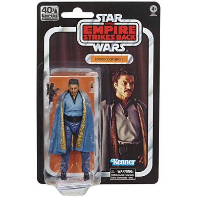 Star Wars Black Series 40th Ann. Empire Strikes Back - Lando 6-Inch Scale Figure