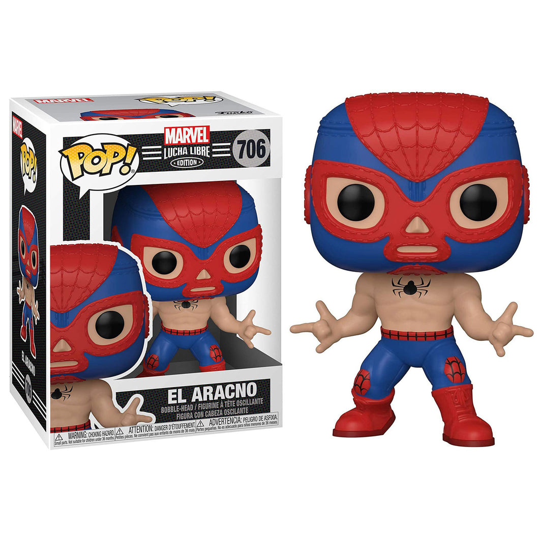 SpiderMan - Luchadore SpiderMan Pop!
