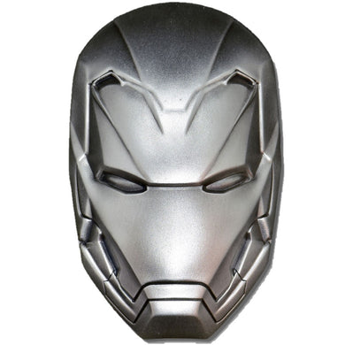 2019 Fiji $5 Marvel Ironman Mask 2oz Silver Coin