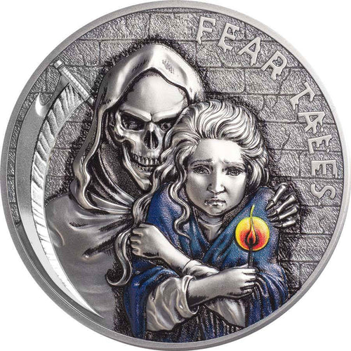 2020 Palau $10 Little Match Girl 2oz Silver Coin