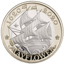 2020 UK £2 Mayflower BU