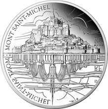 2020 France 10€ Mont St Michel Silver Proof