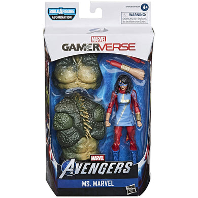 Avengers Video Game Marvel Legends - Ms Marvel (Kamala Khan) Action Figure