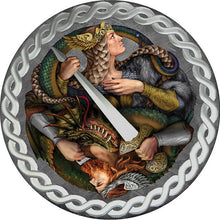 2019 Niue $1 Legend of the Nibelungs Pure Meteorite Coin