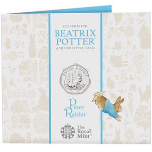 2020 UK 50p Peter Rabbit Brilliant Uncirculated Coin