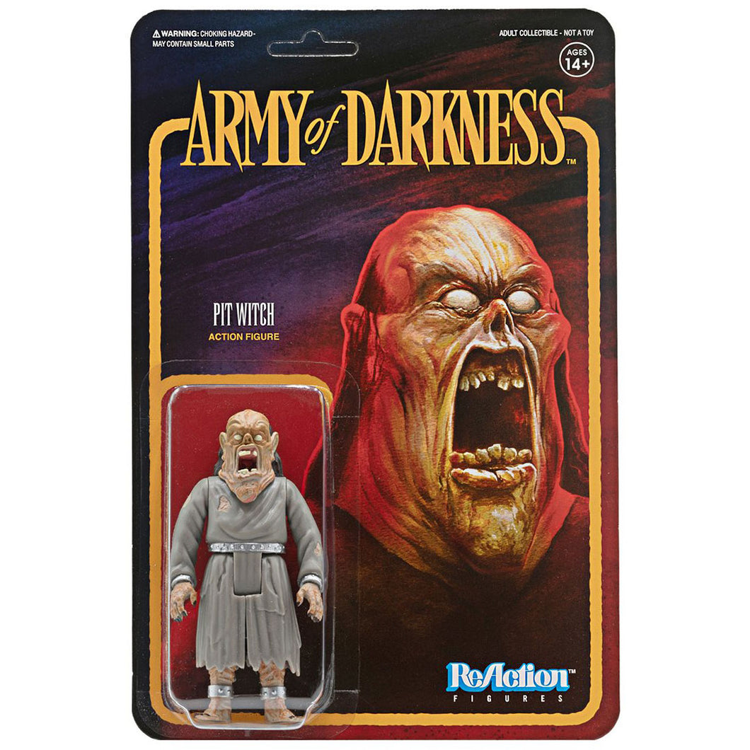 Army of Darkness Pit Witch 3 3/4-Inch ReAction Figure