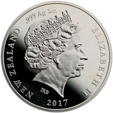 2017 NZ $1 Platinum Wedding 1oz Silver Proof