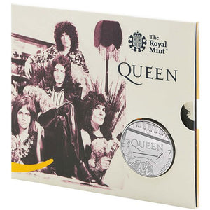 2020 UK £5 Music Legends - Queen BU