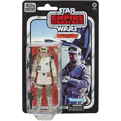 Star Wars Black Series 40th Ann. Empire Strikes Back - Rebel Soldier 6-Inch Scale Figure