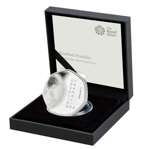 2020 UK 50p Rosalind Franklin Silver Proof