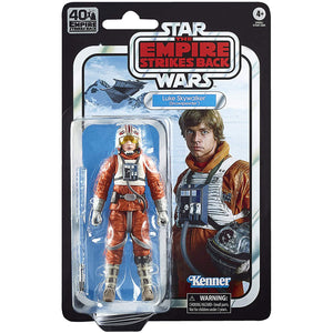 Star Wars Black Series 40th Ann. Empire Strikes Back - Luke Skywalker Snowspeeder 6-Inch Scale Figure