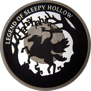 2020 Niue $5 Spooky Stories - Sleepy Hollow 2oz Silver Proof
