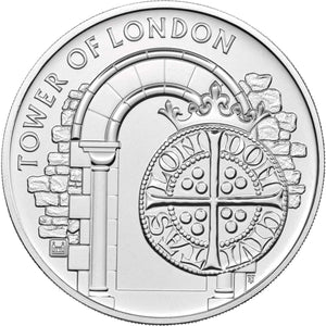 2020 UK £5 Tower of London - Coins & Kings BU Coin