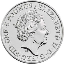2020 UK £5 Tower of London - Menagerie BU Coin