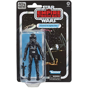 Star Wars Black Series 40th Ann. Empire Strikes Back - Tie Fighter Pilot 6-Inch Scale Figure