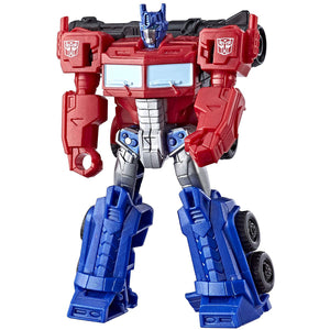 Transformers Cyberverse Scout Optimus Prime Action Figure
