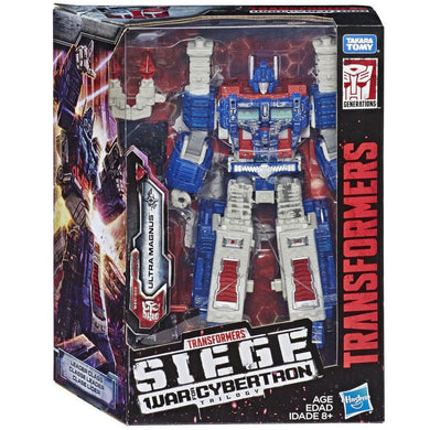 Transformers War for Cybertron Leader - Ultra Magnus Action Figure
