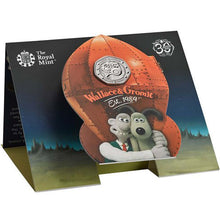 2019 UK 50p Wallace & Gromit BU
