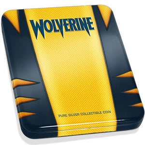 2020 Fiji $1 Wolverine 1oz Silver Proof
