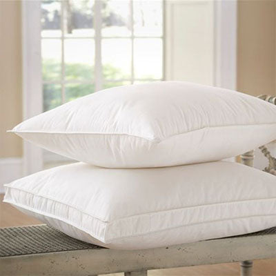 Organa 650 Fill White Goose Down Pillow - SOFT