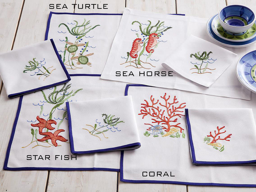Under The Sea - Linen Placement and Napkin