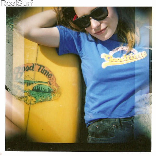 Retro GOODTIME T-Shirt - Blue