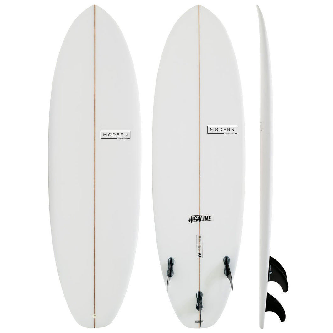 MODERN HIGHLINE P.U 6'4 CLEAR