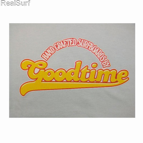 Retro GOODTIME T-Shirt - Aquagrey