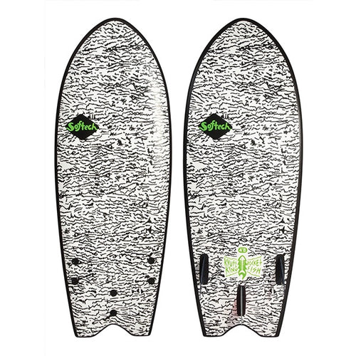 SOFTECH KYUSS FISH FCSII 4'8